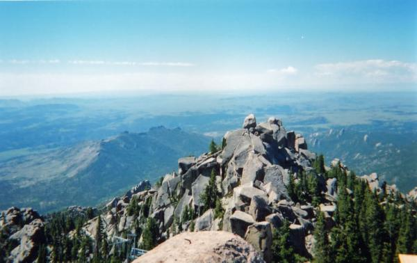 View from Laramie Peak